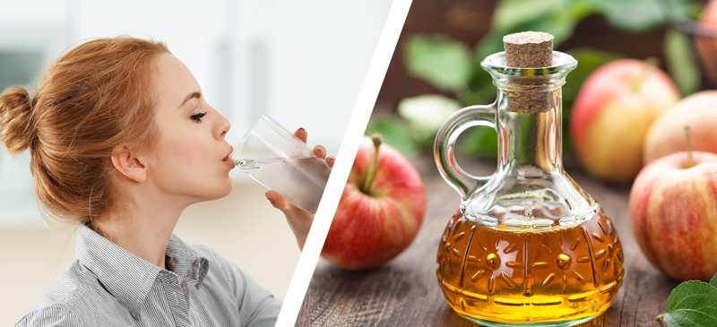 Apple Cider Vinegar Drink for weight loss