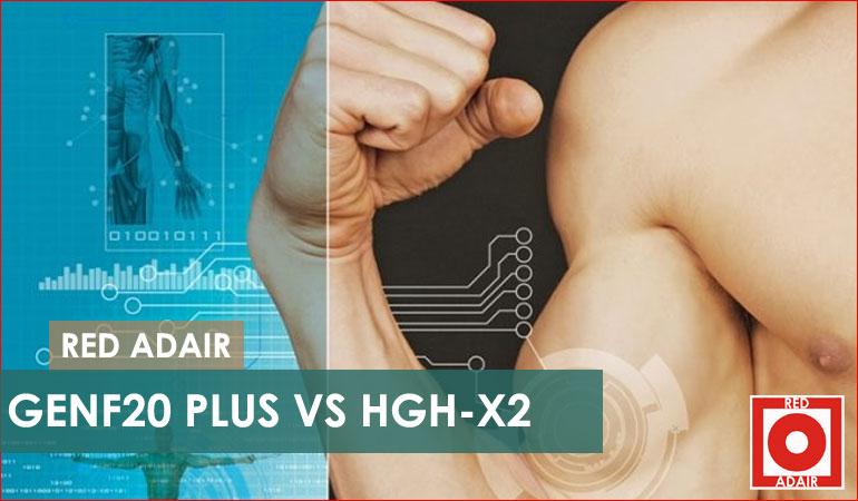 GenF20 Plus vs HGH-X2